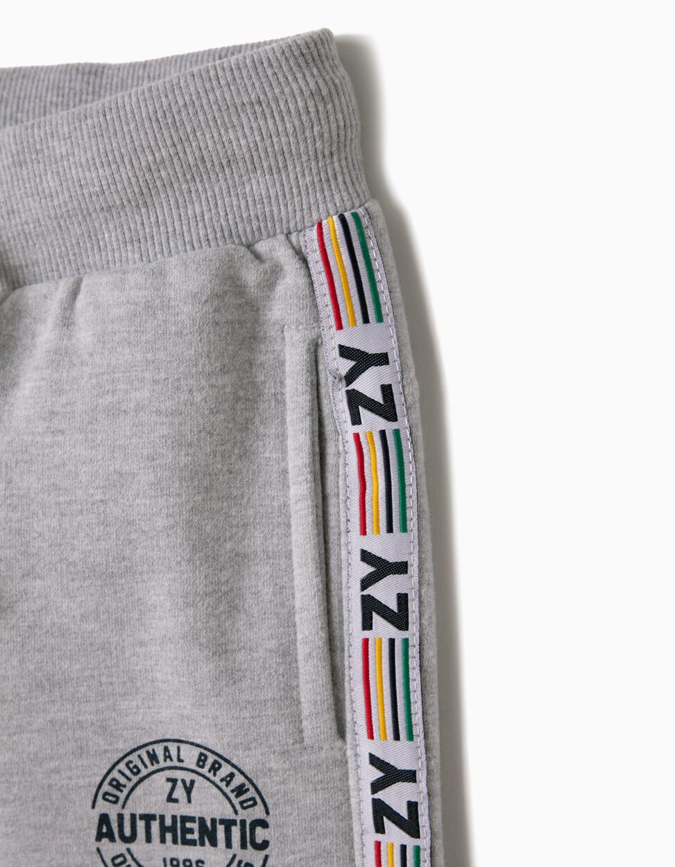 Pantalón de Chándal Gris ZY 96