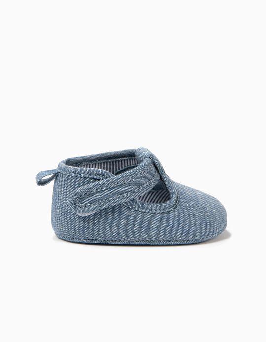 Zapatos para Recién Nacido, Azul