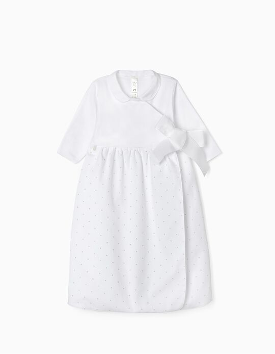Jumpsuit for Newborn Babies 'Welcome Home', White