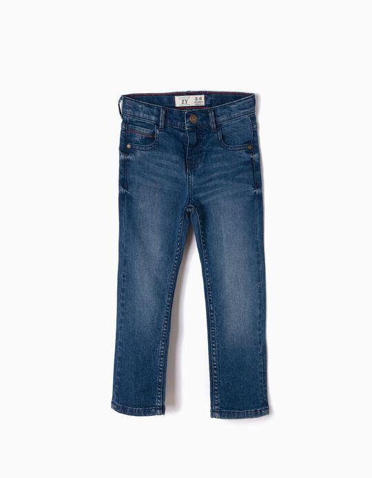 Denim Jeans for Boys 'Loose Fit', Dark Blue
