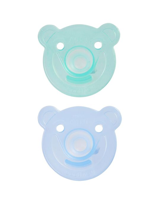 Sucette Soothie Silicone Philips Avent 2 Un.