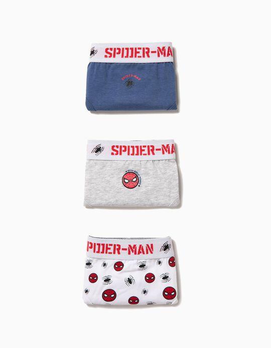 Pack 3 Cuecas Spider-Man
