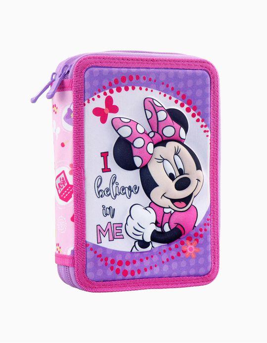 Estojo Minnie 3D Disney 21cm