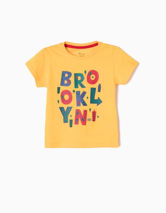 Camiseta Brooklyn Amarilla