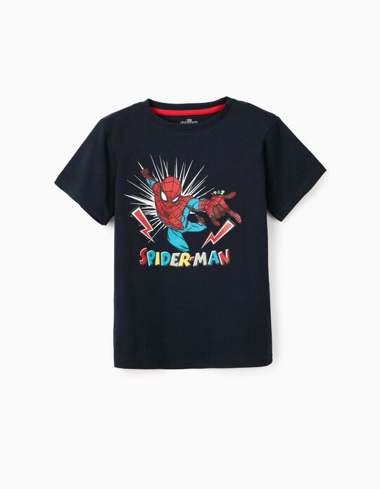 T-Shirt for Boys 'Spider-Man', Dark Blue