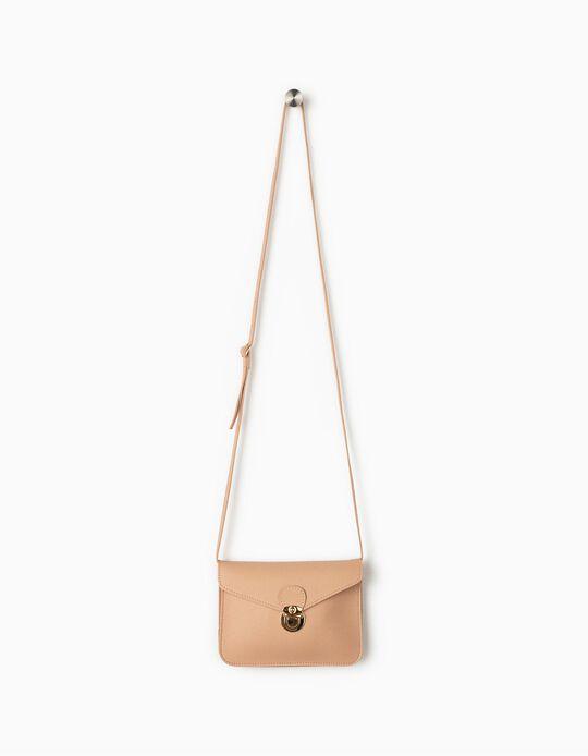 Crossbody Envelope Handbag for Girls, Pink