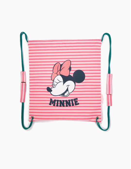 Gym Bag for Girls 'Minnie Mouse', Pink
