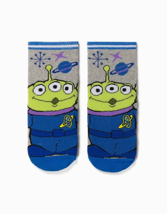 Calcetines Antideslizantes para Niño 'Toy Story 4', Gris/Azul