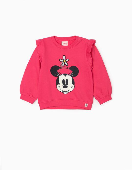 Sweatshir for Baby Girls 'Minnie', Pink
