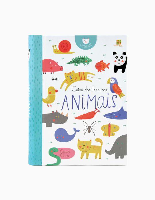 Livro Caixa Dos Tesouros Animais Edicare
