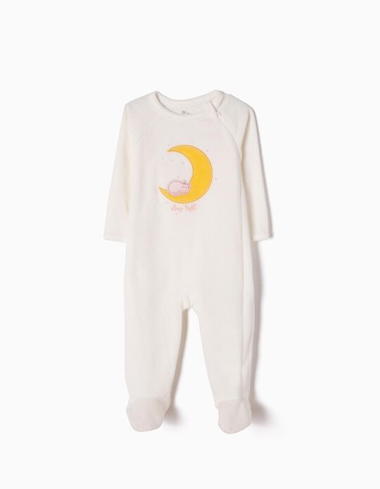Babygrow de Veludo Cat & Moon