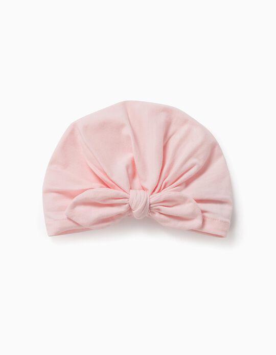 Turban for Newborn Baby Girls, Pink