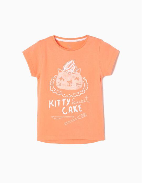 T-shirt Kitty Cake