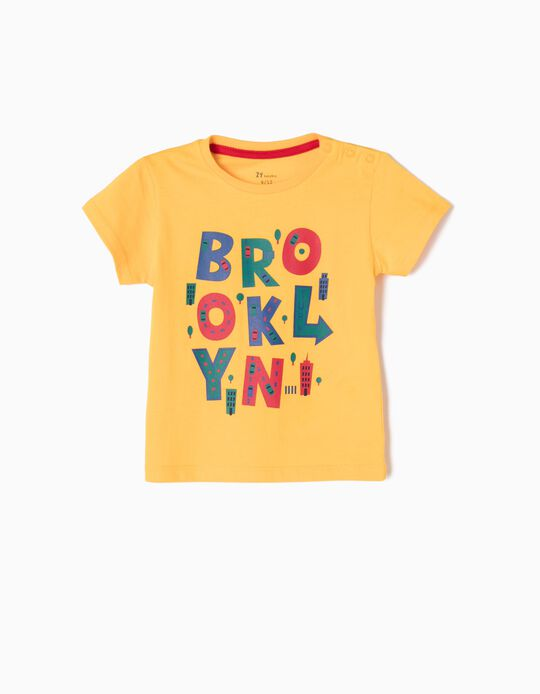 T-shirt Brooklyn Amarela