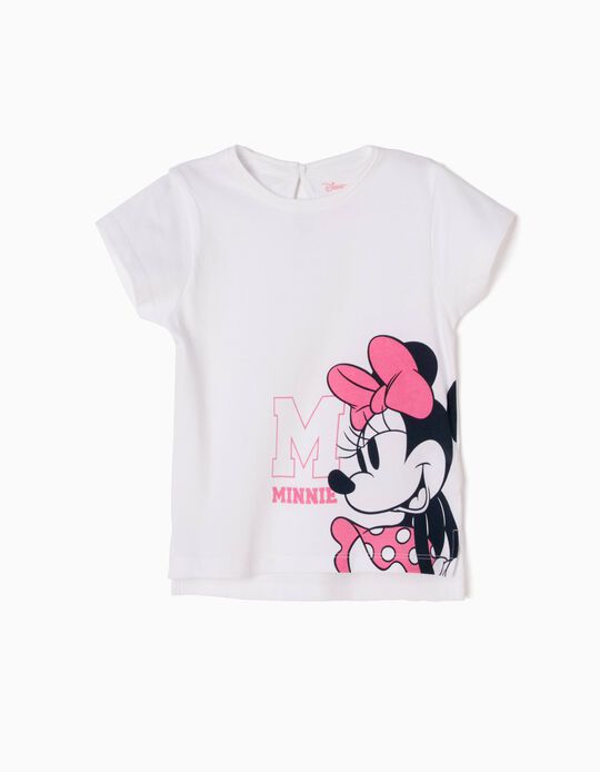 Camiseta Minnie Blanca