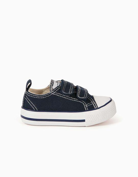Baskets bébé '50'S Sneaker', bleu foncé
