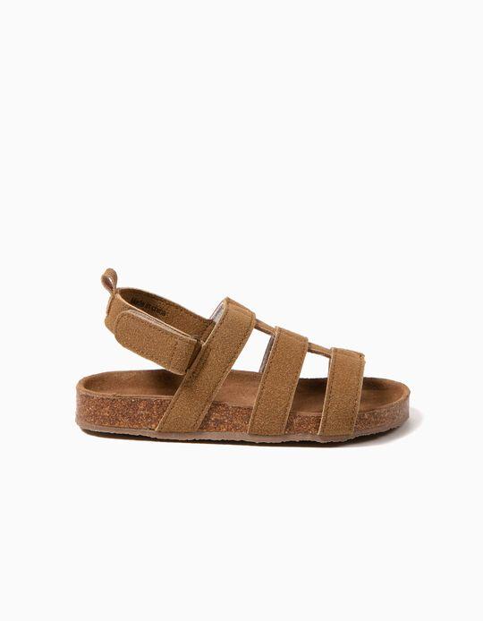 Sandálias Camurça