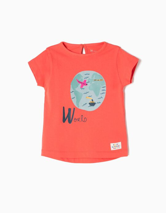 T-shirt Estampada World