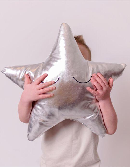 Decorative Cushion Silver Star Bizzi Growin