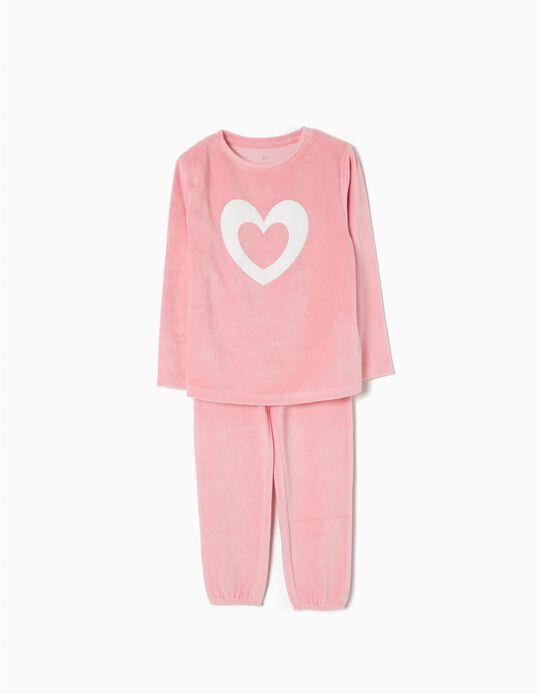 Pijama de Terciopelo Heart