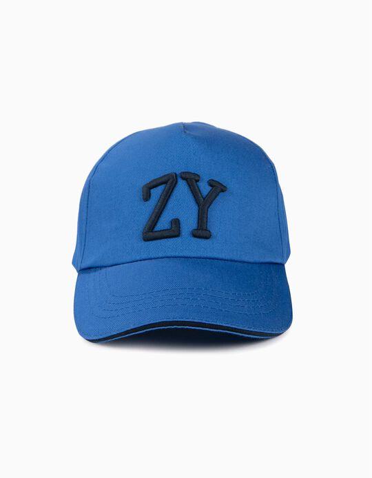 Gorra para Niño 'ZY', Azul