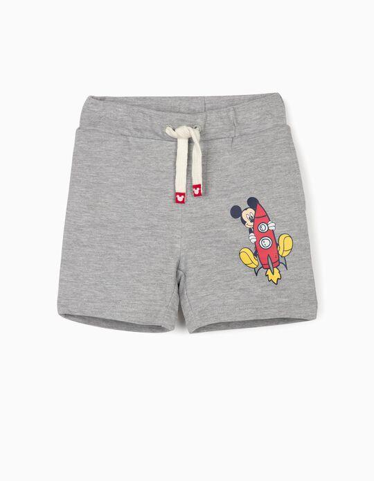 Short Deportivo para Bebé Niño 'Mickey', Gris