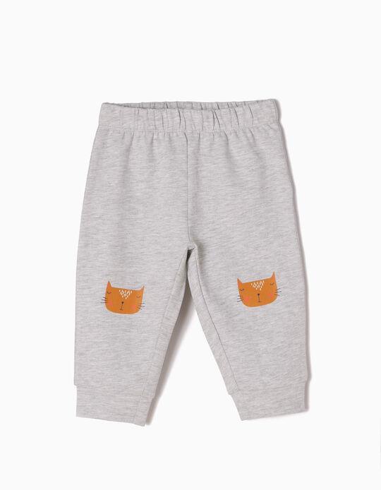 Pantalón de Chándal Estampado Cats