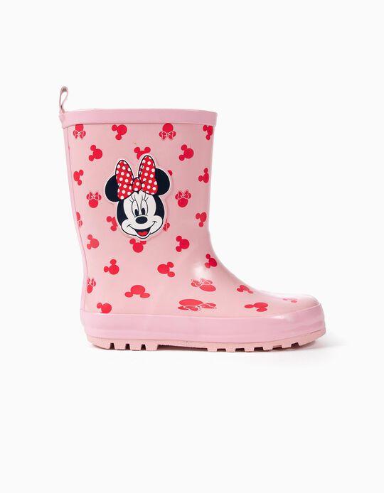 Botas de Goma para Niña 'Minnie', Rosa