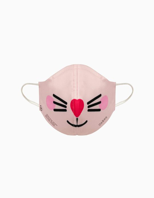Adult Face Mask 'High Comfort', Cat