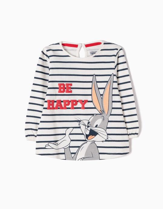 Camiseta de Manga Larga a Rayas Bugs Bunny