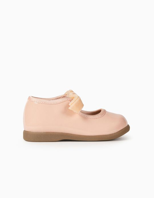 Patent Ballerina Pumps for Baby Girls 'ZY Ballerina', Pink