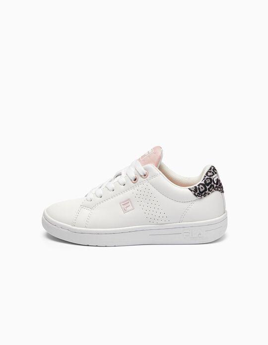 Zapatillas para Niña 'FILA Crosscourt', Blancas