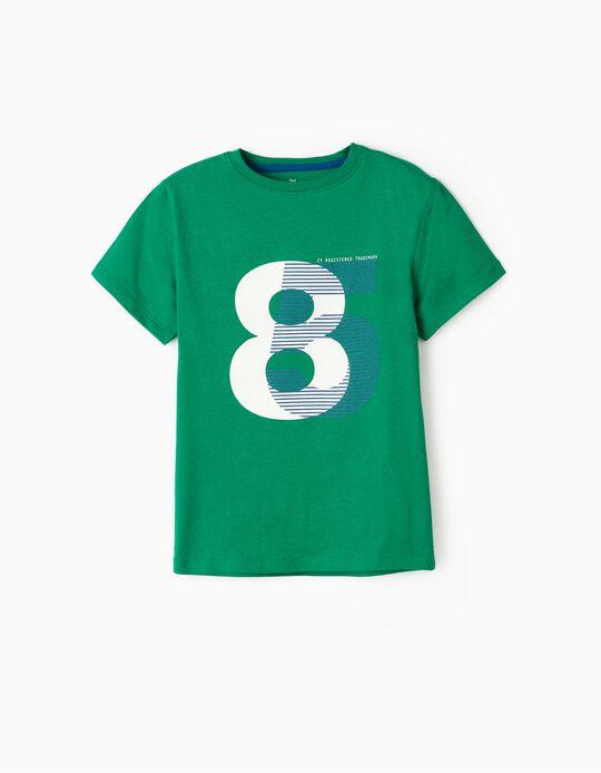 Camiseta para Niño '85', Verde