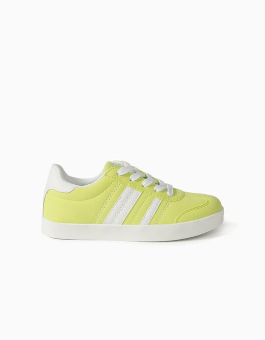 Trainers for Kids 'ZY Retro', Fluorescent Yellow