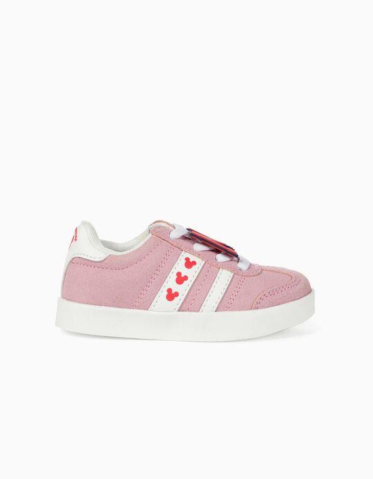 Zapatillas para Bebé Niña 'ZY Retro Minnie', Rosa Claro