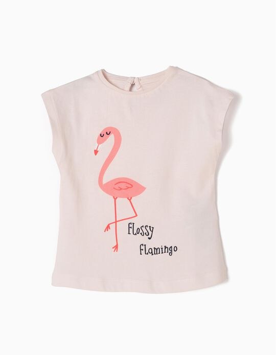 T-shirt Flossy Flamingo