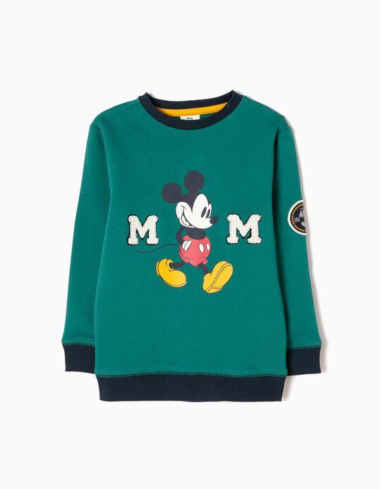 Sudadera Mickey Verde