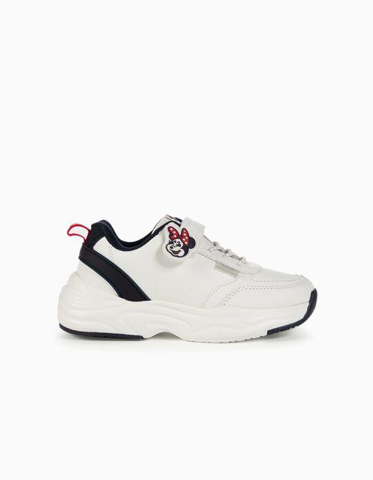 Zapatillas Chunky para Niña 'Minnie Mouse', Blancas