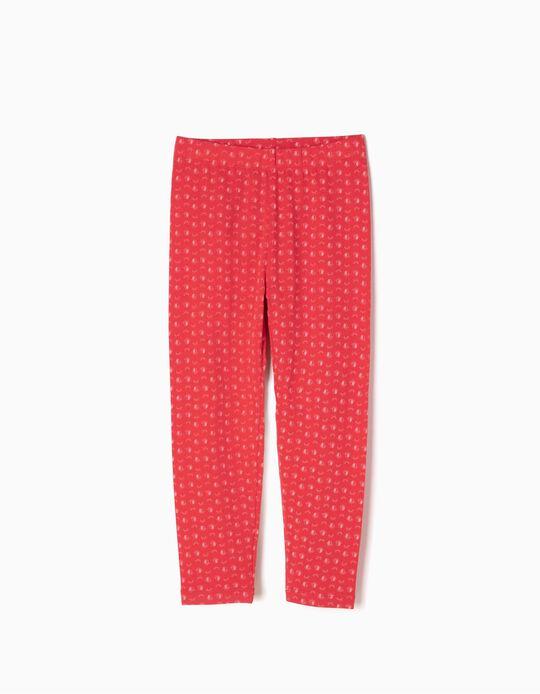 Leggings Estampados Rojos