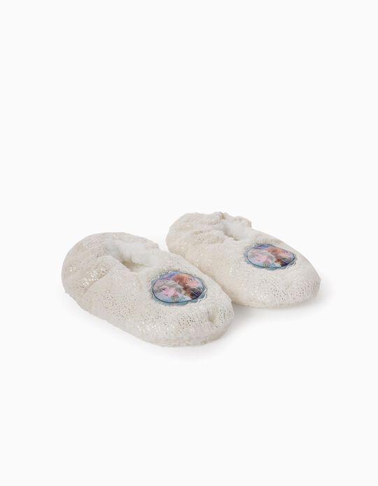 Slippers for Girls, 'Frozen II', White