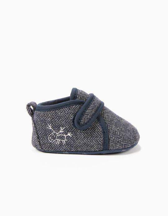 Zapatos Pre-Walker de Lana Gris