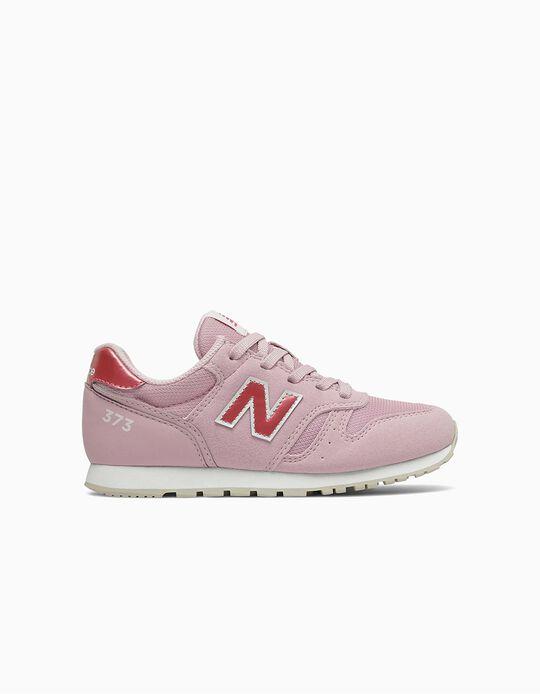 Zapatillas para Niña 'New Balance 373', Rosa