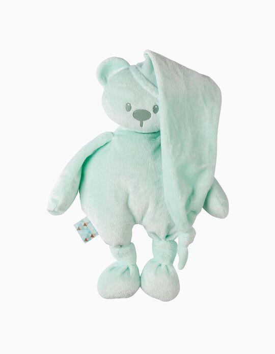 Peluche 36 Cm Lapidou Cuddlies Bear Nattou Mint Poliéster Reciclado
