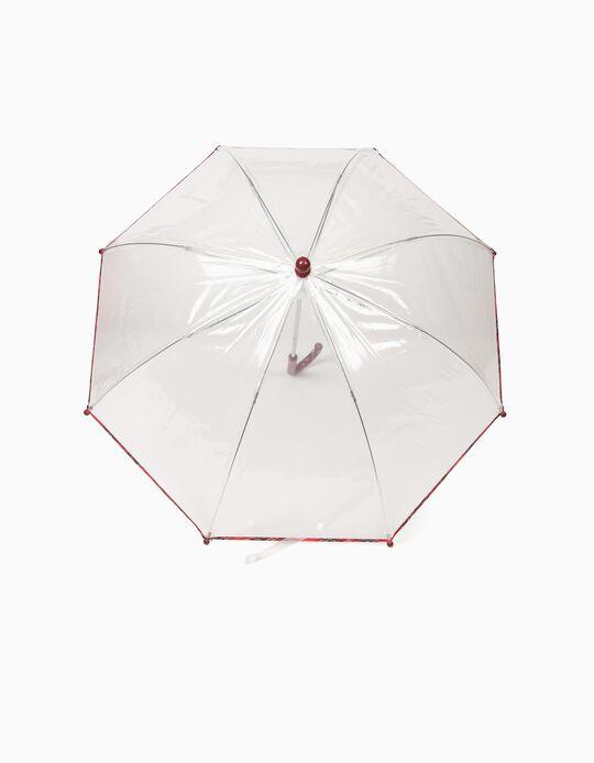 Guarda-Chuva Transparente Xadrez