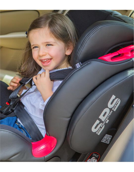 Silla para Coche Gr 1/2/3 Thunder Isofix Be Cool Meteorite