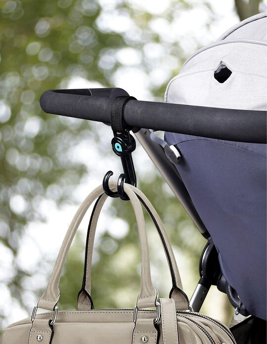 2 Pushchair Hooks by Apramo