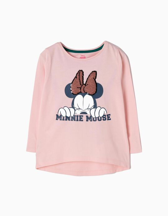 Camiseta de Manga Larga Minnie Mouse