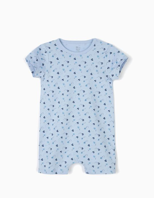 Babygrow para Bebé Menino 'Little Paper Planes', Azul