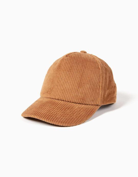 Gorra de Pana Camel
