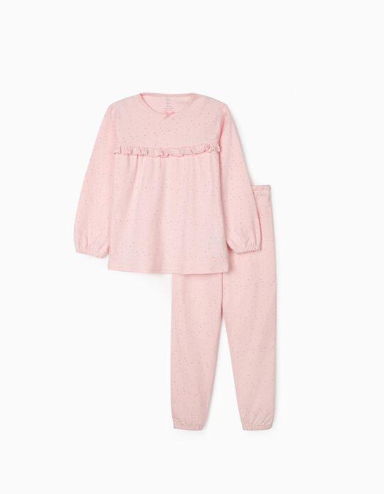 Pijama para Niña 'Stars', Rosa